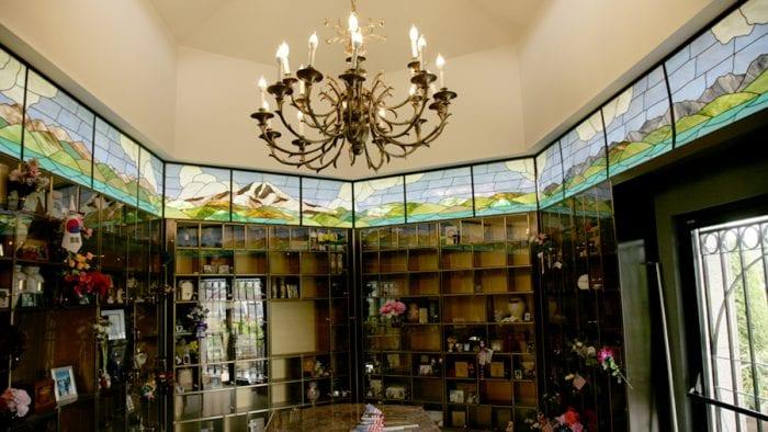 BONNEY WATSON's decorative columbarium and on-site crematory
